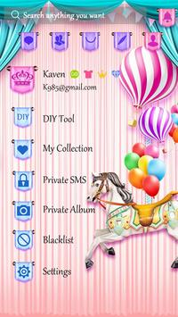 (FREE) GO SMS CARROUSEL THEME screenshot 4