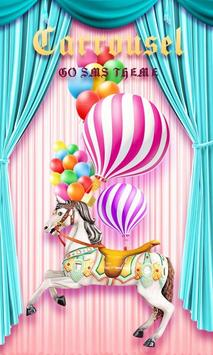 (FREE) GO SMS CARROUSEL THEME poster