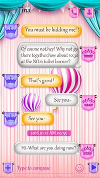 (FREE) GO SMS CARROUSEL THEME screenshot 1