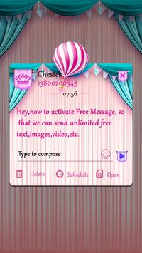 (FREE) GO SMS CARROUSEL THEME screenshot 3