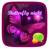 (FREE) GO SMS BUTTERFLY THEME icon