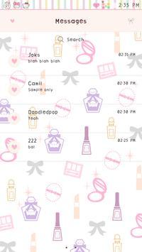 Doll Girl GO SMS poster