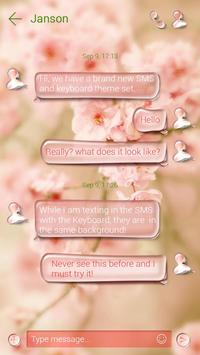(FREE) GO SMS DEWDROP THEME apk screenshot