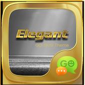 (FREE) GO SMS ELEGANT THEME icon
