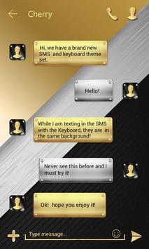 (FREE) GO SMS ELEGANT THEME apk screenshot