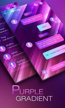 (FREE) GO SMS GRADIENT THEME poster