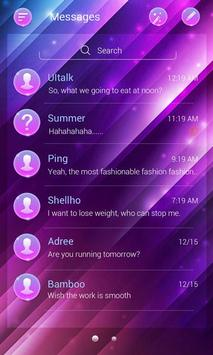 (FREE) GO SMS GRADIENT THEME ảnh chụp màn hình 1