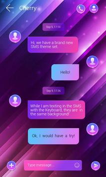(FREE) GO SMS GRADIENT THEME ảnh chụp màn hình 2