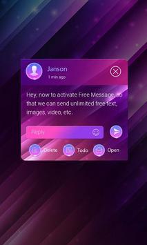 (FREE) GO SMS GRADIENT THEME ảnh chụp màn hình 3
