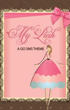 My Liah SMS Theme poster