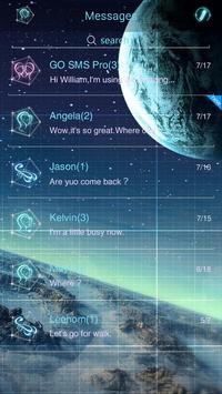 (FREE) GO SMS STARRYMOOD THEME apk screenshot