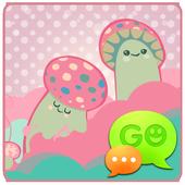 GO SMS Crazy Mushrooms Theme icon