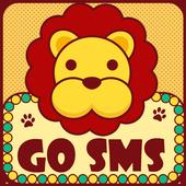 CuteLion Theme GO SMS icon