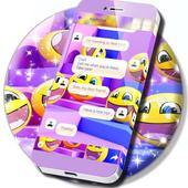 Free Emoji SMS App icon