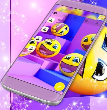 Free Emoji SMS App poster