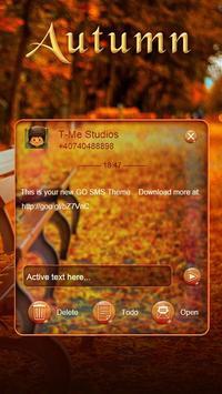 Autumn SMS poster