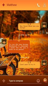 Autumn SMS apk screenshot