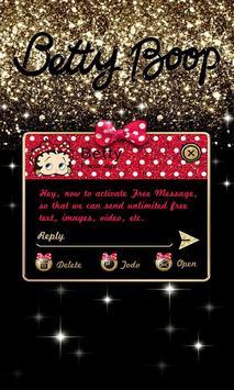 (FREE) GO SMS BETTY BOOP THEME apk screenshot