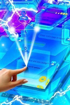 Blue Glass Panes SMS screenshot 3