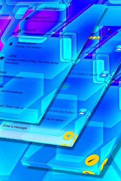 Blue Glass Panes SMS screenshot 4