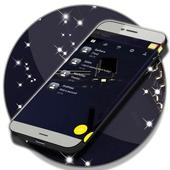 Black Sms icon