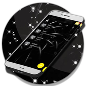 Black Sms App icon