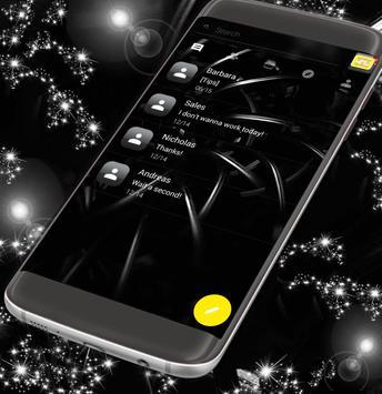 Black Sms App poster