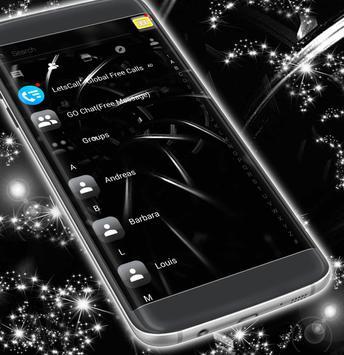 Black Sms App apk screenshot