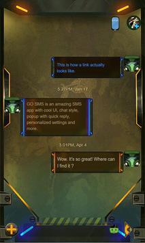 Army Camo SMS Theme apk screenshot