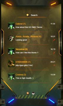 Camo GO SMS apk screenshot