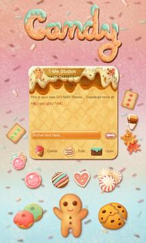 Cute Candy SMS Theme poster