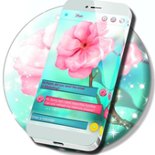 Cherry Blossom SMS icon