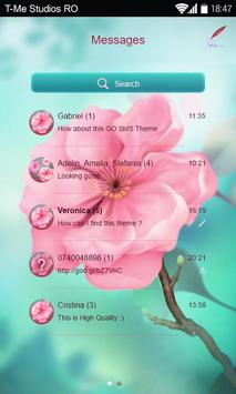 Cherry Blossom SMS apk screenshot