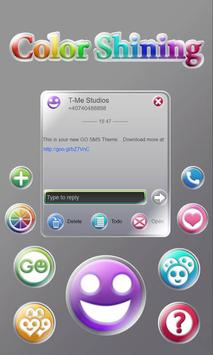 Shiny Colors SMS Theme poster