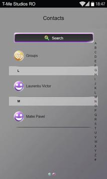 Shiny Colors SMS Theme apk screenshot