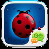Cute Ladybug SMS Theme icon