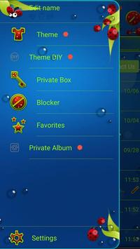 Cute Ladybug SMS Theme apk screenshot