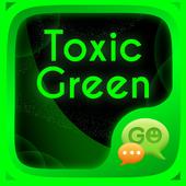 Toxic Neon Green SMS Theme icon