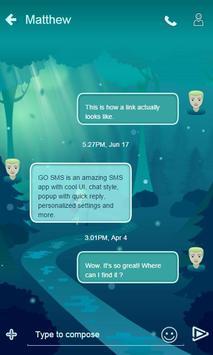 Love Story GO SMS apk screenshot
