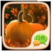 Pumpkin Theme GO SMS icon