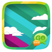 Rainbow Colors SMS Theme icon