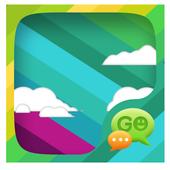 Rainbow GO SMS icon