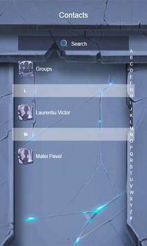 Alien Ruins SMS Theme apk screenshot