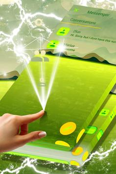 Green Lake Landscape SMS Theme poster