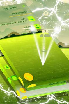 Green Lake Landscape SMS Theme screenshot 1