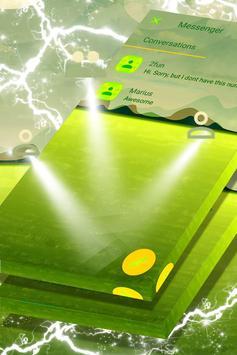 Green Lake Landscape SMS Theme screenshot 2