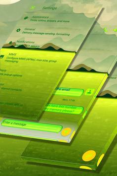 Green Lake Landscape SMS Theme screenshot 4