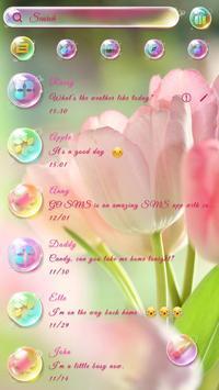(FREE) GO SMS DREAMY THEME screenshot 1