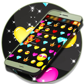 Emoji Pattern SMS Theme 2018 icon