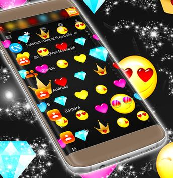 Emoji Pattern SMS Theme 2018 screenshot 4